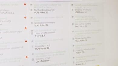 UK university open day checklist