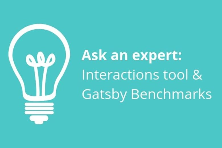 Ask an expert: Interactions tool & Gatsby Benchmarks