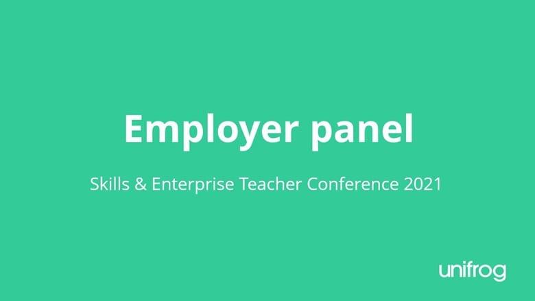 Skills & Enterprise Conference - Employer panel
