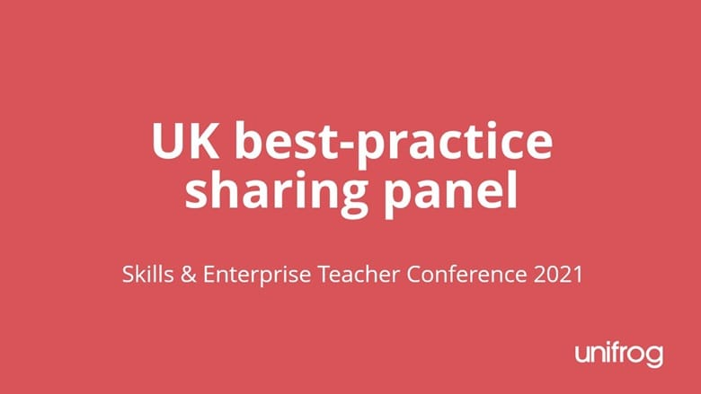 Skills & Enterprise Conference - UK teacher best practice panel