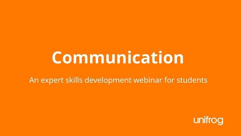 Skills & Enterprise Week - Communication and Presenting Skills Development