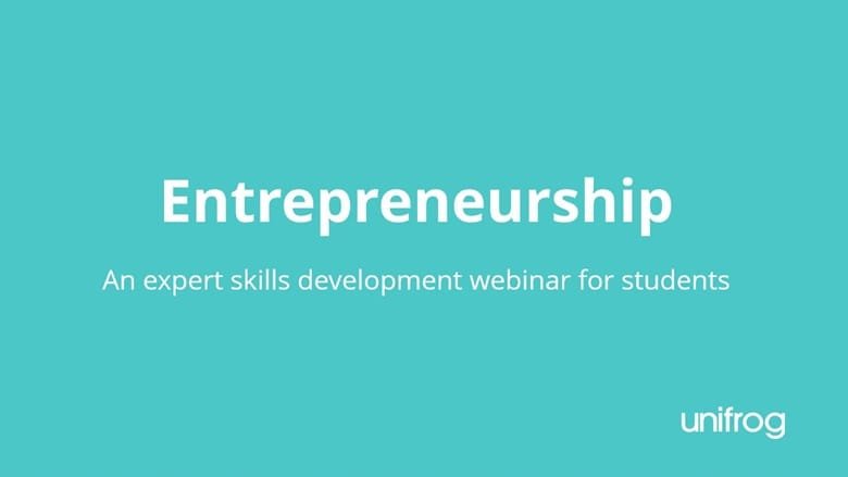 Skills & Enterprise Week - Entrepreneurship Skills