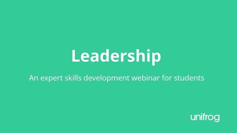 Skills & Enterprise Week - Leadership Development
