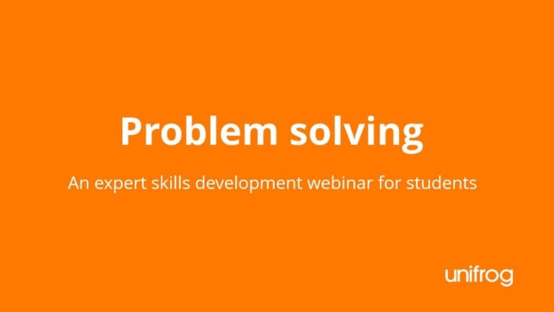 Skills & Enterprise Week - Problem Solving Skills Development