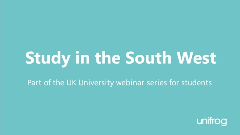 UK University Series: Study in the South West I