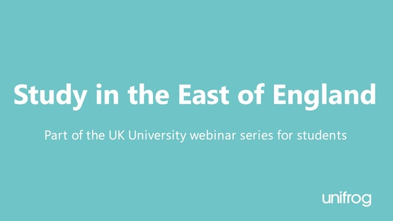 Study in the East of England