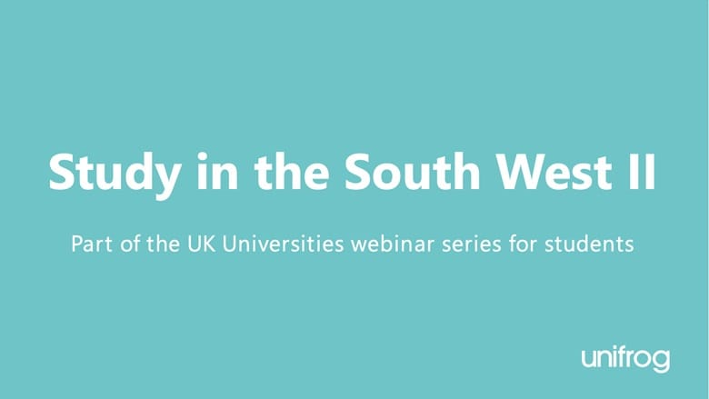UK University Series: Study in the South West II