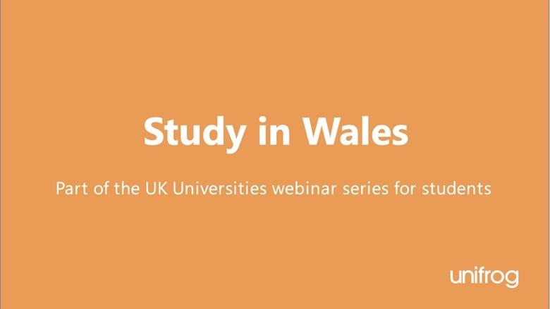 UK University Series: Study in Wales