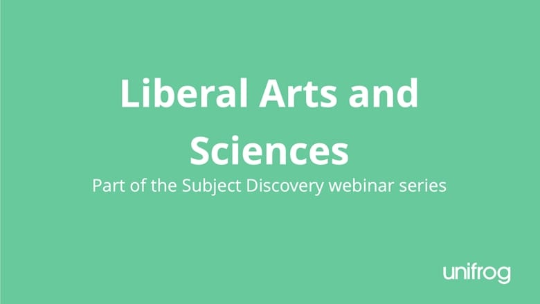 Subject Discovery Series: Liberal Arts and Sciences