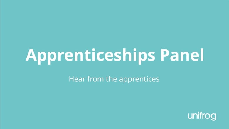Apprenticeship panel: Hear from the apprentices