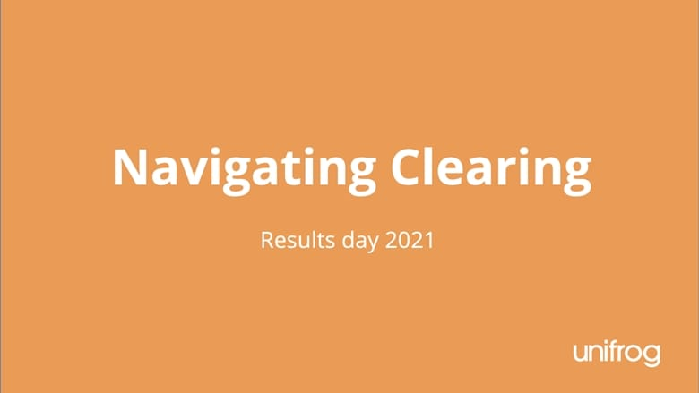 Results day 2021: Navigating clearing